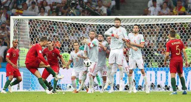 Portugal Espagne coupe du monde