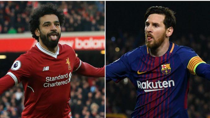 Mohamed salah à barcelone